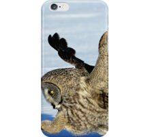 Great Grey Hunting Sequence 4 iPhone Case/Skin