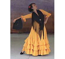 Fan Dance Photographic Print