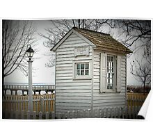 Frenchtown Railroad Ticket Station Poster