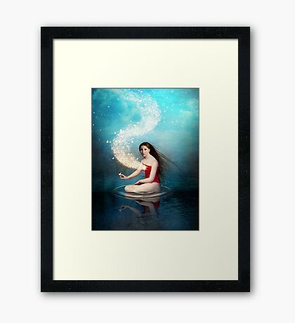 Shining Light 2 Framed Print