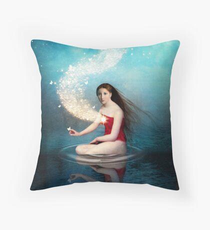 Shining Light 2 Throw Pillow