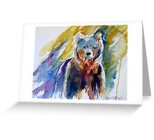 Bear From The Woods Greeting Card
