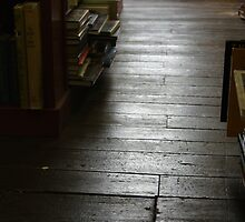 The Old Wood Floor In The Old Book Store (color) by John Ayo