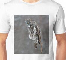 Grey on Grey Unisex T-Shirt