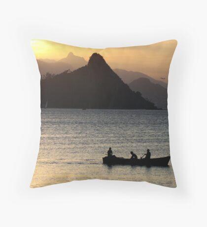 Pescadores Throw Pillow
