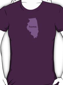 Illinois Home Purple T-Shirt