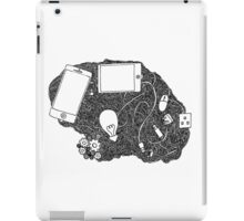 Wired brain iPad Case/Skin