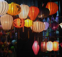 Lanterns, Hoi An by John Mitchell