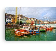 Cobh Town in Ireland Canvas Print