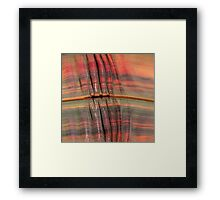 colorful waves  Framed Print
