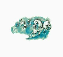 Horses In The Waves Unisex T-Shirt