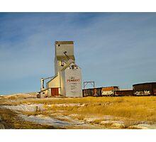Prairie Landmark Photographic Print