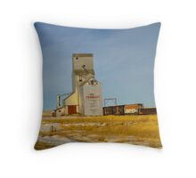Prairie Landmark Throw Pillow