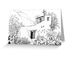 Chapel at DeGrazia's Gallery in the Sun Greeting Card