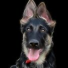 Puppy Indy by Sandy Keeton