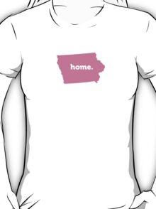 Iowa Home Pink T-Shirt