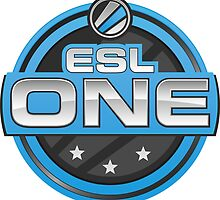 ESL One Logo by XCrookie