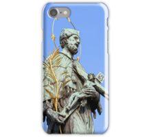 St. John Nepomucene Statue iPhone Case/Skin