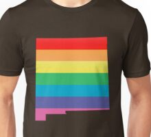 rainbow new mexico Unisex T-Shirt
