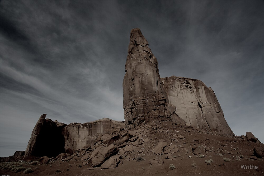 Dark Skies at Monument Valley by Writhe
