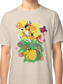 Funky Aliens (Toejam and Earl) Classic T-Shirt