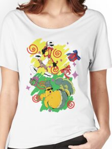 Funky Aliens (Toejam and Earl) Women's Relaxed Fit T-Shirt