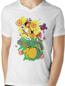 Funky Aliens (Toejam and Earl) Mens V-Neck T-Shirt
