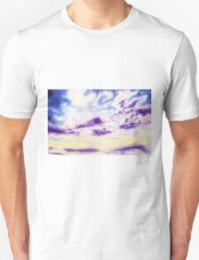 Purple Cloud Sky T-Shirt