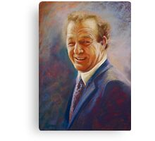 Portrait of Dick  Canvas Print