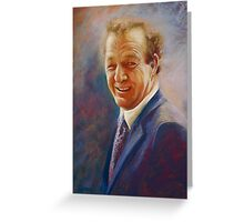 Portrait of Dick  Greeting Card