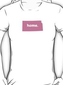 Kansas Home Pink T-Shirt