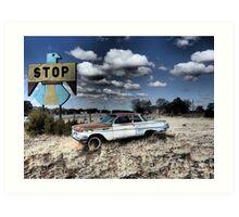 Pie Town, New Mexico on Pi Day 3/14/15 Art Print