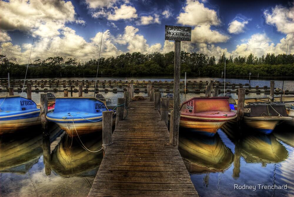 Boats by Rodney Trenchard