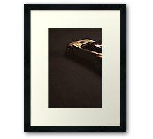 ZR1 Grunge Framed Print