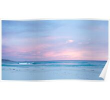 Pastel sky at dusk Poster