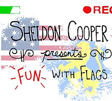 The Big Bang Theory - Fun with Flags by kramprusz