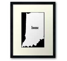 Indiana Home Tshirt - Limited Edition Tshirts Framed Print