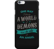 WORLD OF DEMONS iPhone Case/Skin