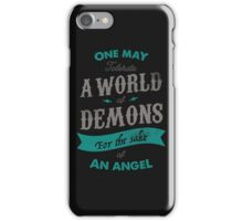 WORLD OF DEMONS iPhone Case/Skin