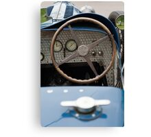 Bugatti Dashboard Canvas Print
