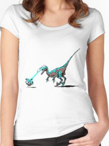 Evolutionary Dramatisation Women's Fitted Scoop T-Shirt