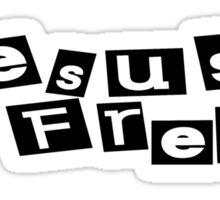 Jesus Freak Sticker