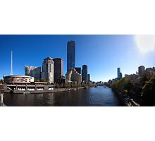Melbourne Pano 01 Photographic Print