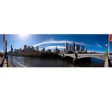 Melbourne Pano 02 Photographic Print