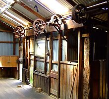 Inside the shearing shed by SDJ1