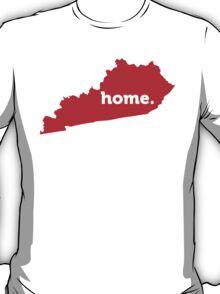 Kentucky Home Red T-Shirt