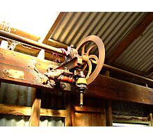 Shearing shed mechanicals Photographic Print
