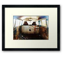 VW combi 1964 misfit trip Framed Print