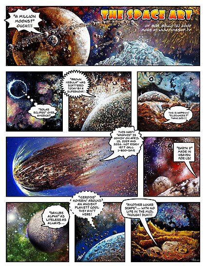 Space Art Portfolio 2007 by Bob Bello