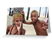 Rio De Janeiro, Brazil 2009 Greeting Card